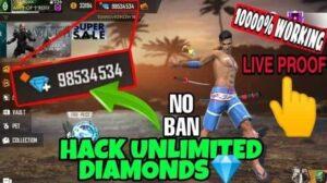 Free Fire Diamond Hack 2021 Working 99999 Diamonds Generator