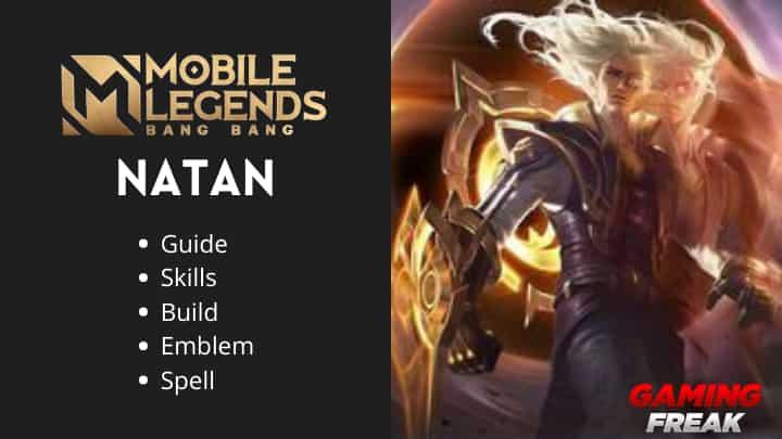 Mobile Legends Natan guide and natan best build