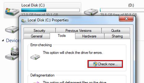 Disk Scan