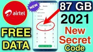 Airtel Free Data Codes Internet Tricks Sep 2021 Get 120GB 4G Data Codes