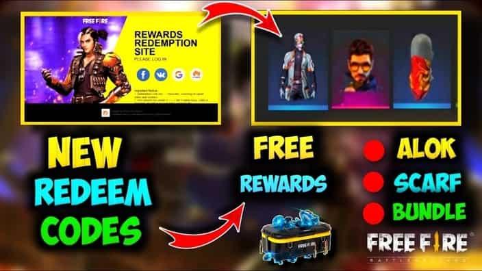 Free Fire Reward Code Working Sep 2021   FF Garena Rewards Codes
